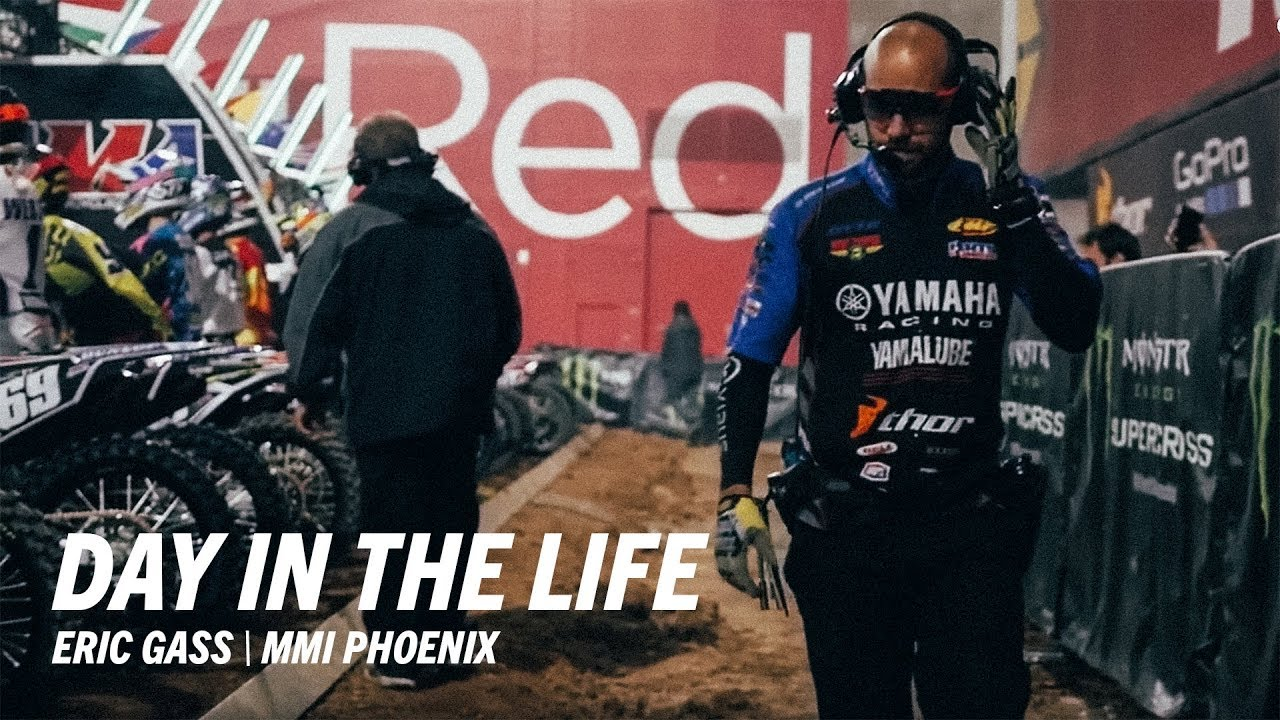 day in the life of eric gass yamaha motorcycle mechanics institute