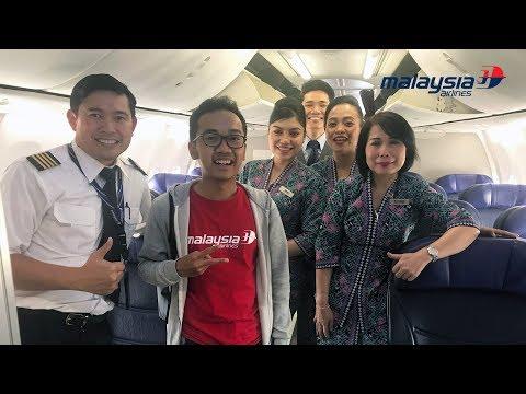 Malaysia Airlines Flight MH717 | Kuala Lumpur to Jakarta