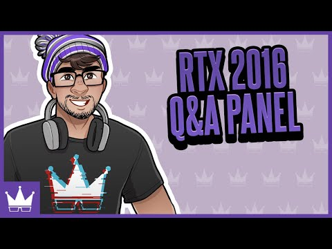 RTX 2016 Q & A w/ Ray Panel