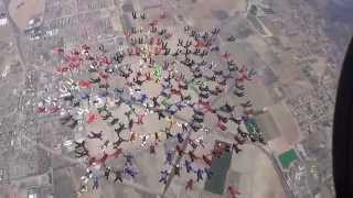 PERRIS: Skydivers try for world record