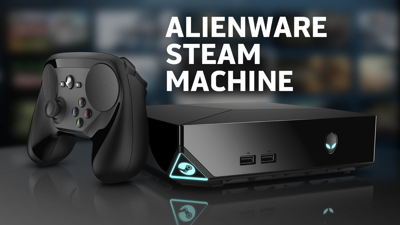 Alienware Steam Machine vs Sony Playstation 4 - Full Gaming .