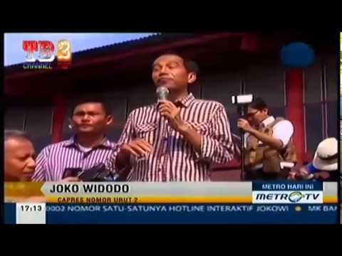 AKSI JOKOWI BERPIDATO Bahasa Jawa !!!!!!