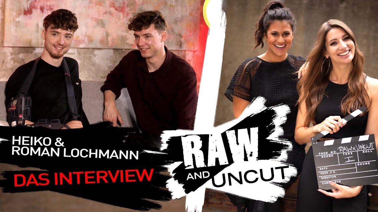 Krankenhaus, Tinderstories und Babyplanung: Roman und Heiko Lochmann im Talk | Raw and Uncut