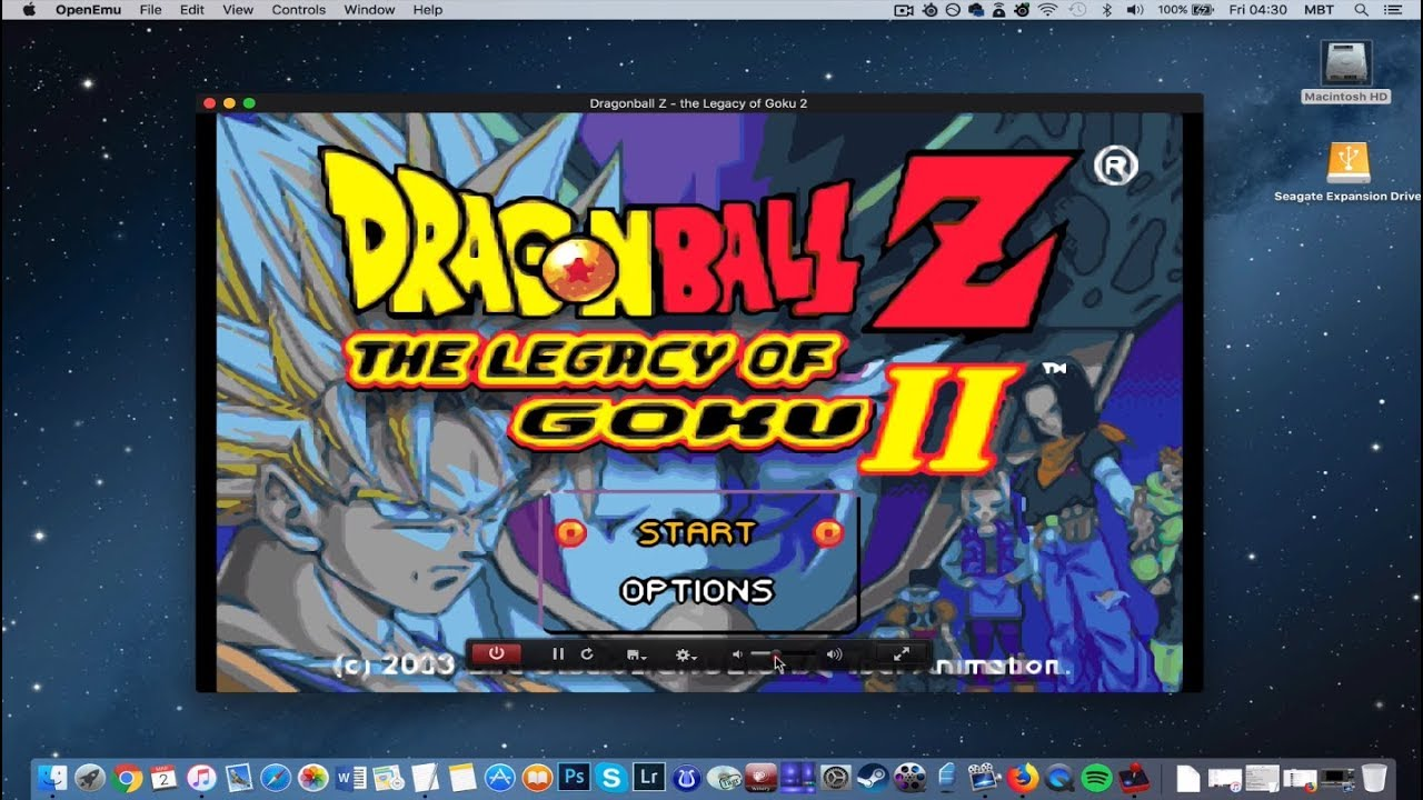 dbz legacy of goku 2 emulator