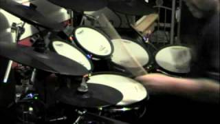 Disabled Drummer and Roland TD 12