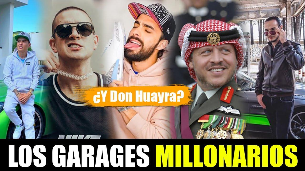 👽 ¿CUANTO VALE EL GARAGE MILLONARIO DE ESTOS INFLUENCERS? 👽