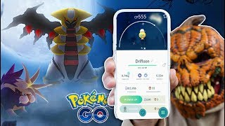 HALLOWEEN UPDATE: GIRATINA, GEN 4 GHOSTS + MORE in Pokémon GO!