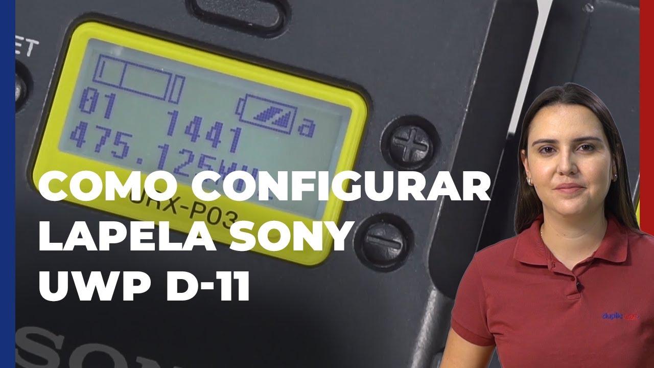 Tutorial - Como configurar Lapela UWP-D11