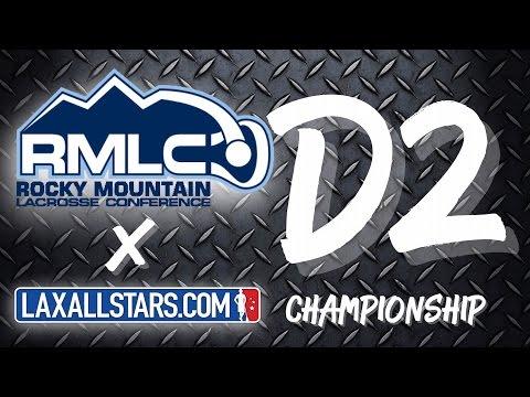 Metro State vs Montana State - Rocky Mountain Lacrosse D2 Championship