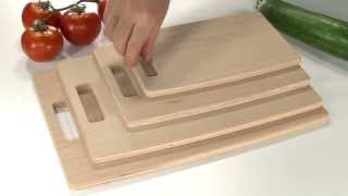 Chopping Board Tescoma Aquaresist, Beech Wood