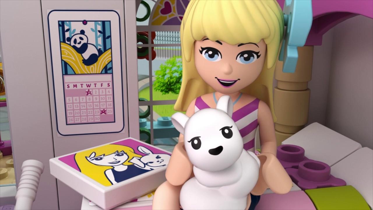 ca7eef73a LEGO® Friends - 41314 Stephanie a její dům - YouTube