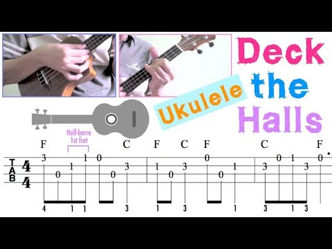 Deck the Halls / Christmas carol (Ukulele)