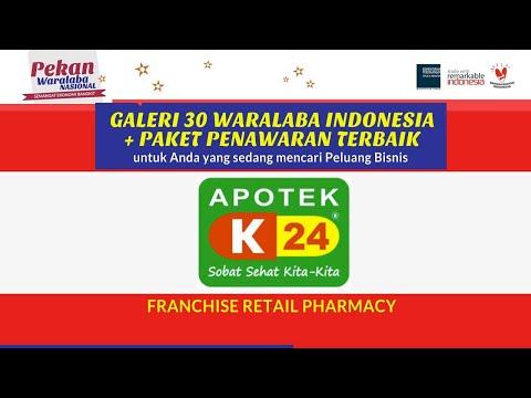 Peluang Bisnis Franchise: APOTEK K24