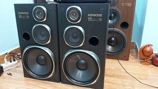 Xong Cặp loa dàn đại Kenwood 5I CS 200W Bass to đùng dễ phối ghép hát Karoke vô tư LH 0918484034