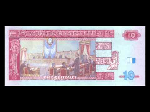All Guatemalan Quetzal Banknotes - 2008 to 2009 Issue