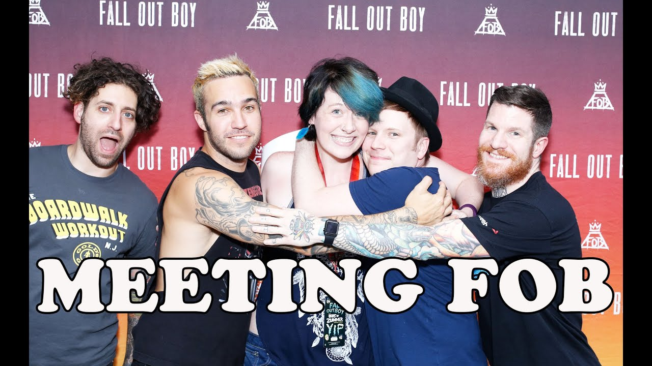 Meeting Fall Out Boy Youtube