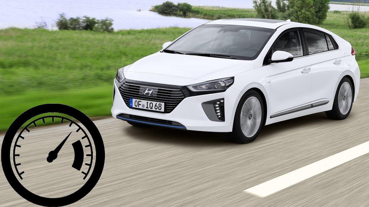Hyundai Ioniq Hybrid Acceleration 0 60 Mph 100 Km H 140 Max Sd 1001cars