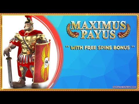 ** NEW ** Centurion Maximum Payus with FREE SPINS BONUS - 동영상