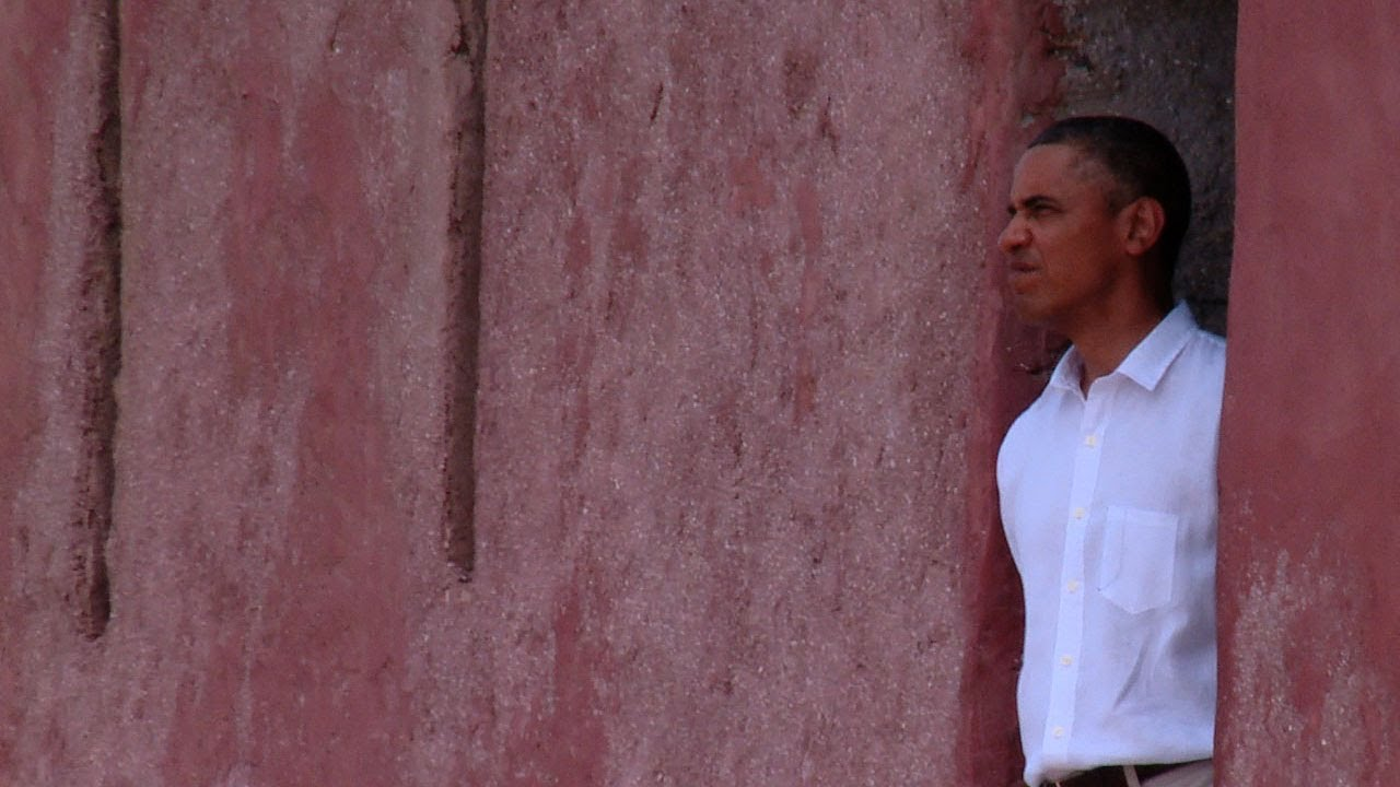 On Board: Behind the Scenes with The President & The First Lady at Gorée Island
