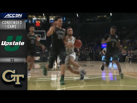 USC-Upstate vs. Georgia Tech Condensed Game | 2018-19 ACC Basketball