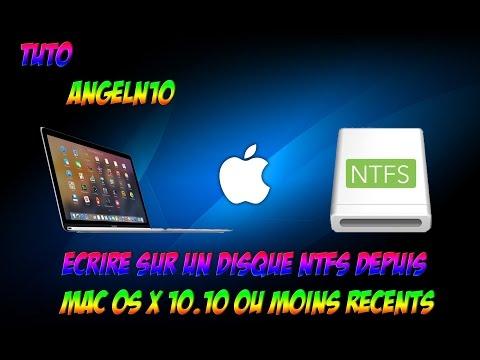 [TUTO][FR] Ecrire sur un disque NTFS depuis MAC OS X gratuitement