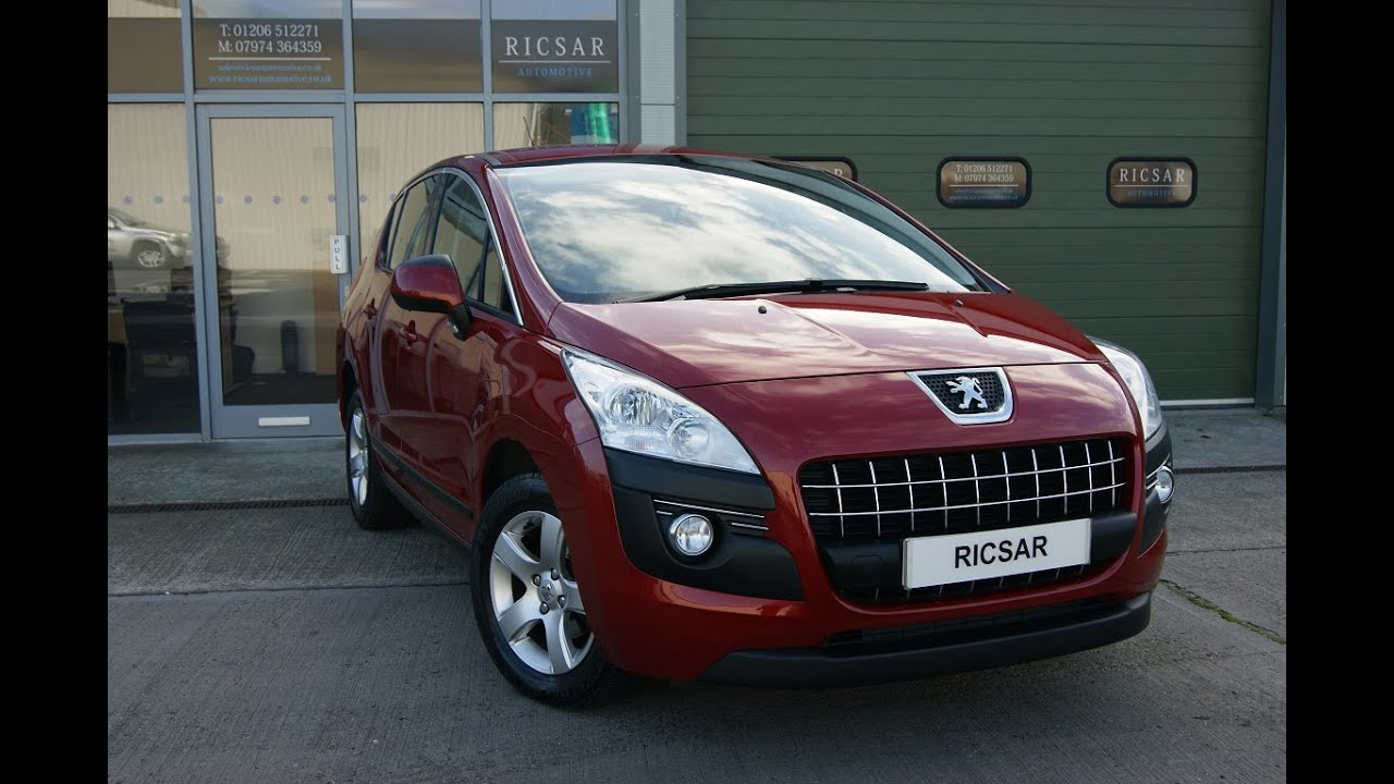 peugeot 3008 1 6 e hdi automatic sat nav model youtube. Black Bedroom Furniture Sets. Home Design Ideas