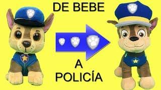 Juguetes paw patrol español:Chase de bebe cachorro a policia patrulla canina.Nuevo capitulo 2018