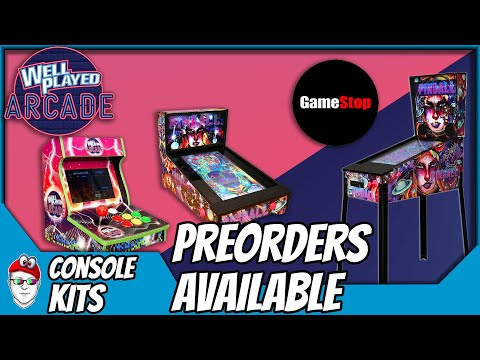 Arcade1up and AtGames snoozed on Pinball, now Well Played announced their preorder! from Console Kits