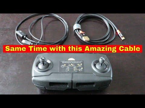 📌 DJI Mavic Mini Controller Charging Reversible Micro USB Cable Review