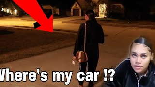 Someone Stole Jania Car Prank !!
