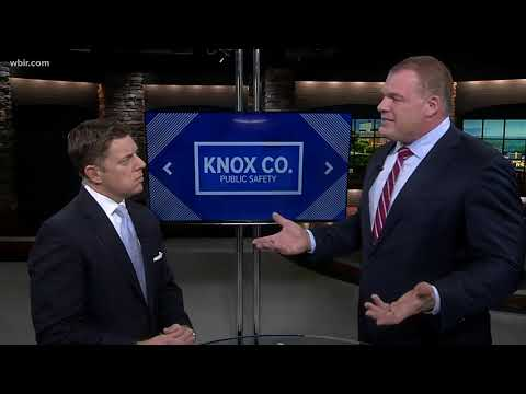 Knox County mayoral candidate Glenn Jacobs discusses public safety