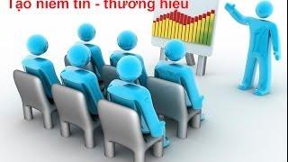 Marketing: Phương pháp 1: Tạo niềm tin