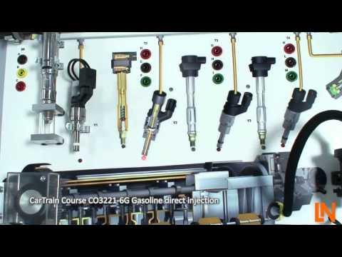 CarTrain Course CO3221-6G Gasoline-direct-injection, Lucas-Nuelle (English)