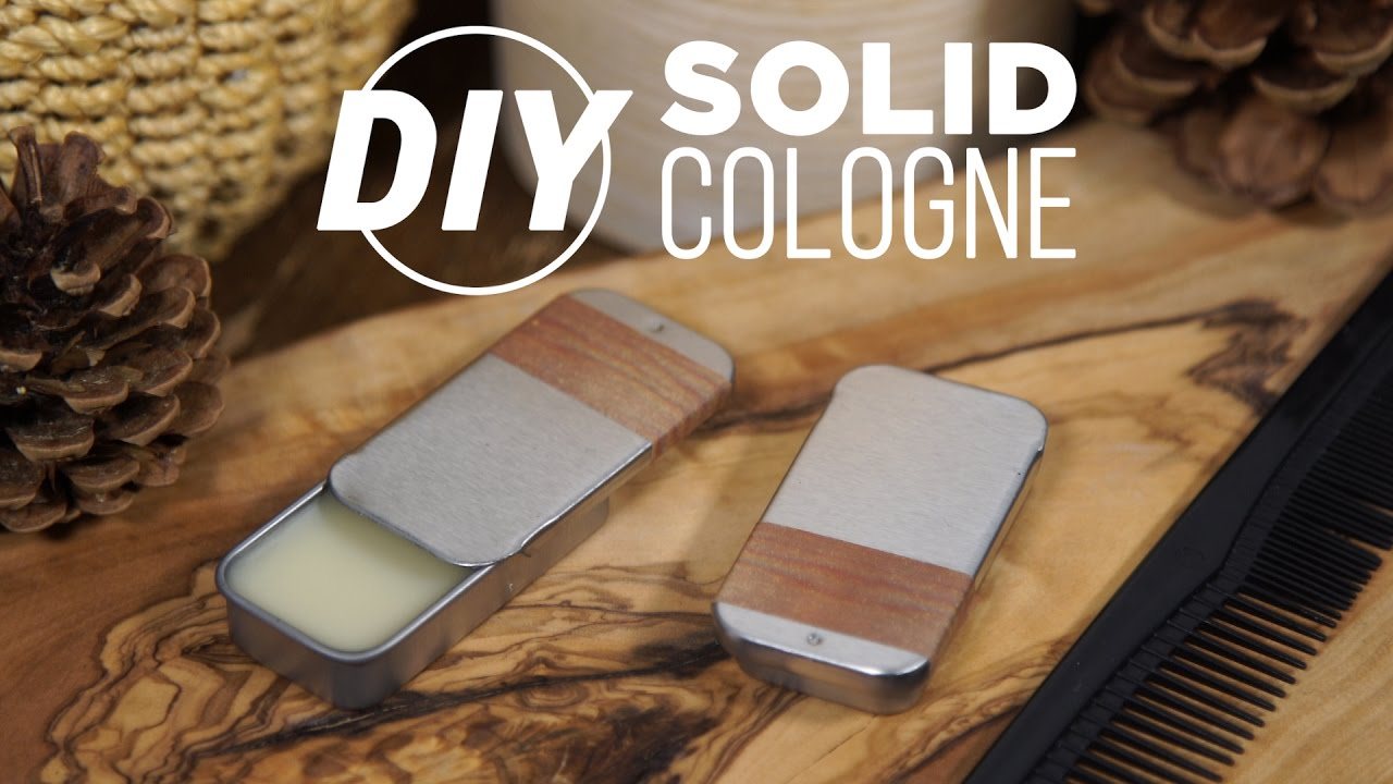 DIY Solid Wax Cologne- HGTV Handmade