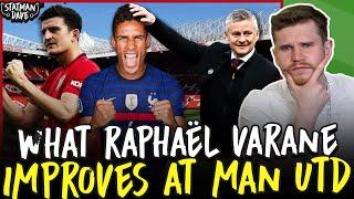 How Raphaël Varane Improves Manchester United...