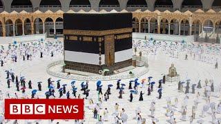 Coronavirus: Scaled back Hajj pilgrimage begins in Saudi Arabia - BBC News