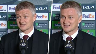 Solskjaer reacts to reaching his first final as Manchester United manager