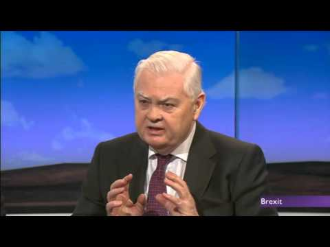 Black Wednesday chancellor Norman Lamont chooses Brexit