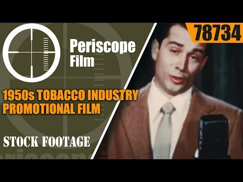 1950s TOBACCO INDUSTRY PROMOTIONAL FILM TOBACCOLAND ON PARAD