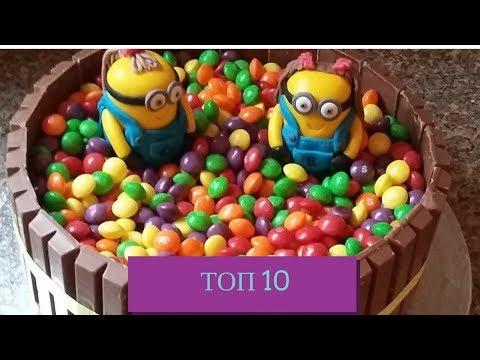 100 идей, как украсить торт в домашних условиях по фото