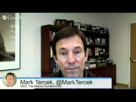 Mark Tercek, CEO of The Nature Conservancy with Forbes Contr