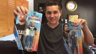 WRESTLEMANIA 33 HERITAGE SERIES ACTION FIGURES REVIEW! PART 1