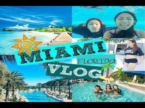 Miami, Florida at Fontainebleau Hotel VLOG