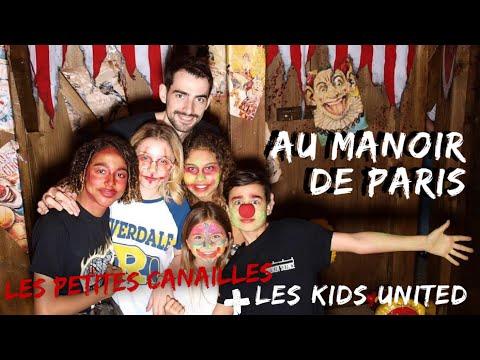 Les Kids United (Valentina, Gloria, Nathan, Ilyana, Dylan)+ Les Petites Canailles Dans Un Parc Hanté