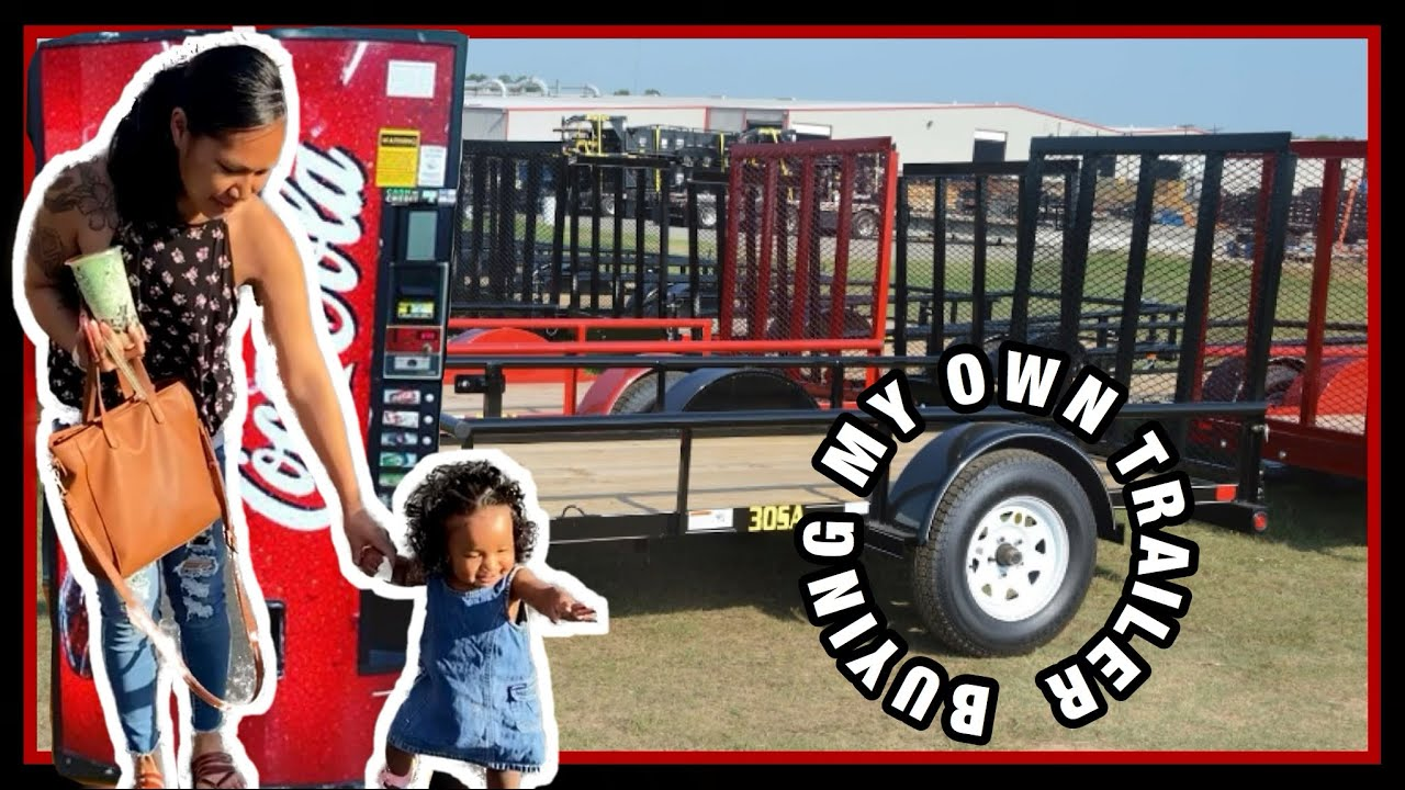 ATTEMPTED TO BUY A TRAILER FOR MY VENDING MACHINE BUSINESS !!