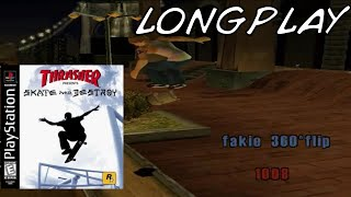 Thrasher Skate And Destroy - Longplay [PS1]