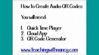 Comment Créer de l'Audio QR Codes