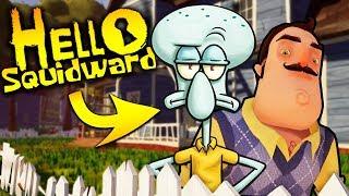 squidward is my new neighbor? hello spongebob hello neighbor mobile ripoff game