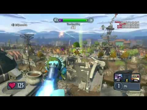 Rocket Kill on PvZ Garden Warfare