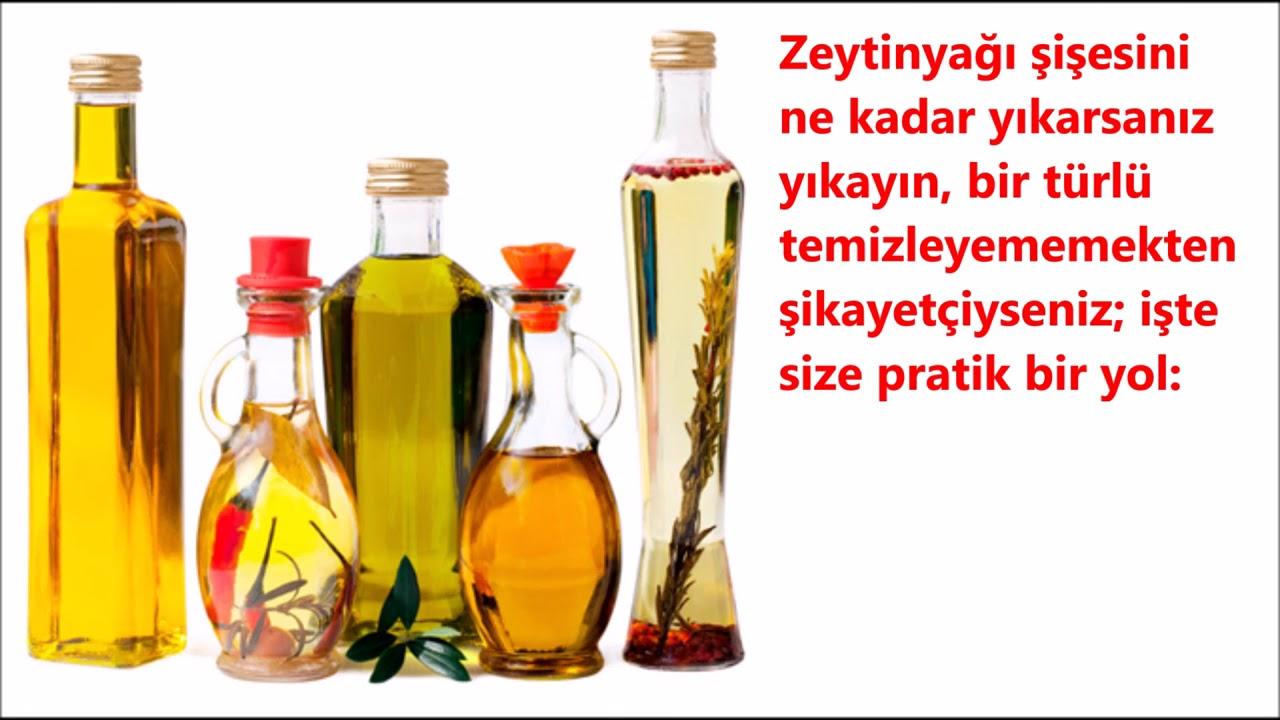 Zeytinyağı Şişesi Nasıl Temizlenir